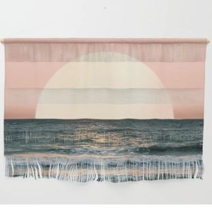 Society6 Summer Sunset Large Wall Hanging